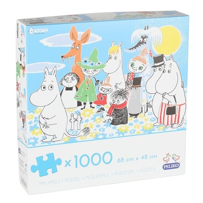 Moomin puzzle Characters of the Moominvalley 1000 pieces