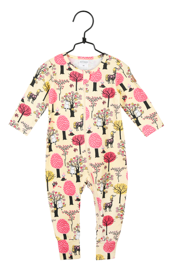 Moomin pyjamas Fruit farm, yellow