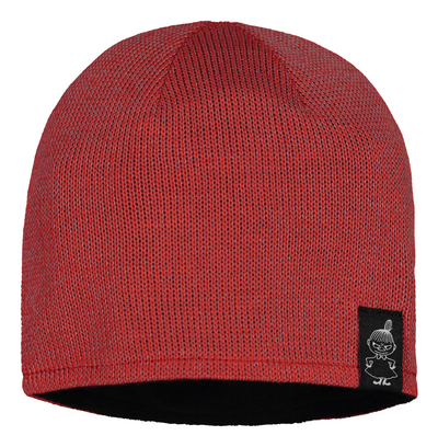 Moomin reflective adults' beanie, red