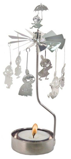 Moomin rotary Candle holder, Little My