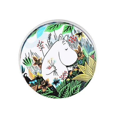 Moomin round tin box, Meadow