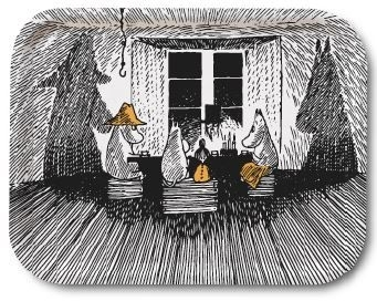 Moomin serving tray, Together