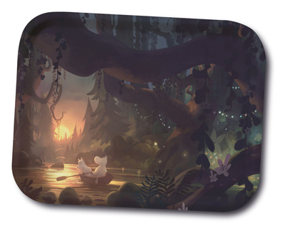 Moomin serving tray  27x20, Moominvalley Forest