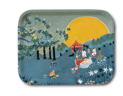 Moomin serving tray 27x20, Sunset Party Bonnier