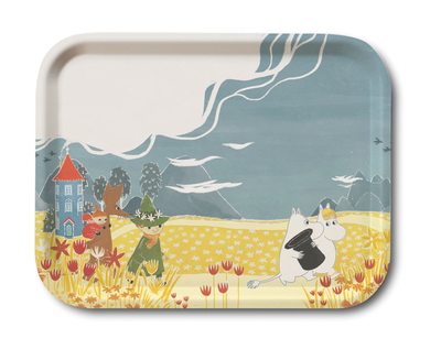 Moomin serving tray 27x20, Valley Hat Bonnier
