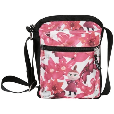 Moomin shoulder bag Crimson flower