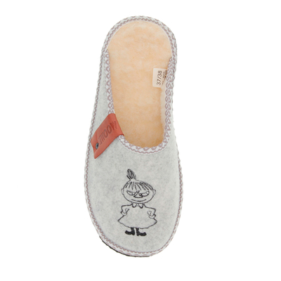 Moomin slipper Whirl Little My, white