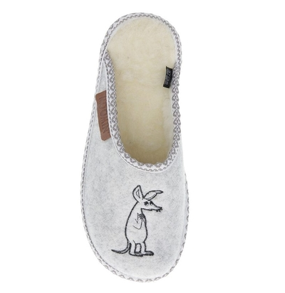 Moomin slippers (unisex) Whirl Sniff white