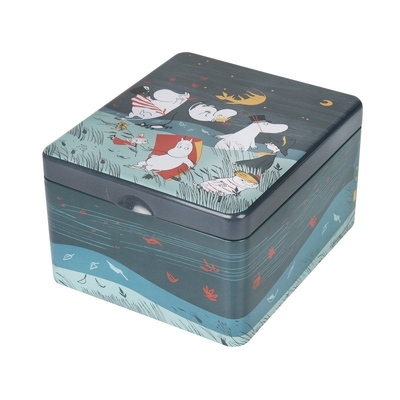 Moomin slot tea caddy Storm