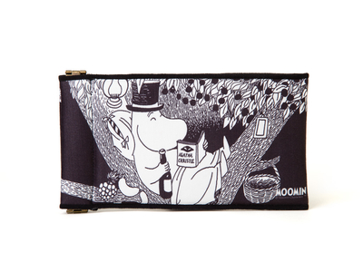 Moomin soft glasses pouch, Moominpappa in a Tree