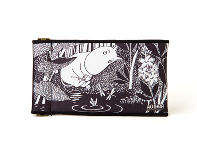 Moomin soft glasses pouch, Moomintroll Daydreaming