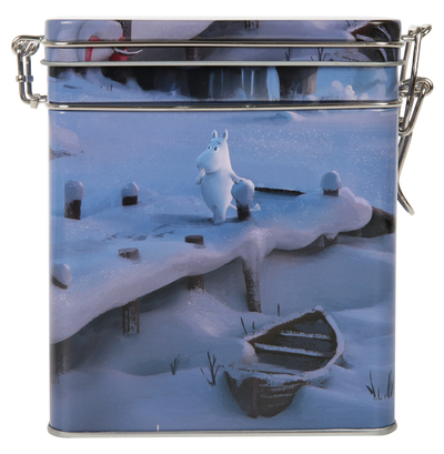 Moomin special coffee jar 3D Winter