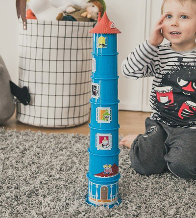 Moomin stacking cups Moomin house