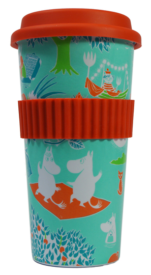 Moomin takeaway mug, 500ml, Mint