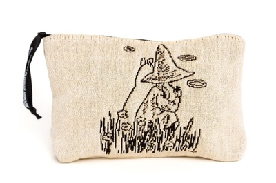 Moomin tapestry pouch/ makeup bag, Back to back