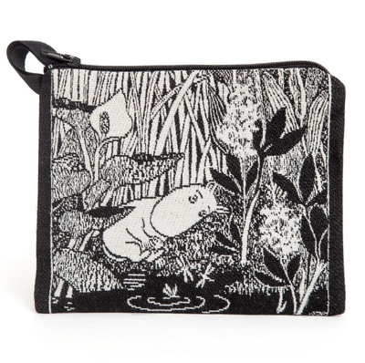 Moomin tapestry purse/ neck pouch, Moomintroll Dreaming