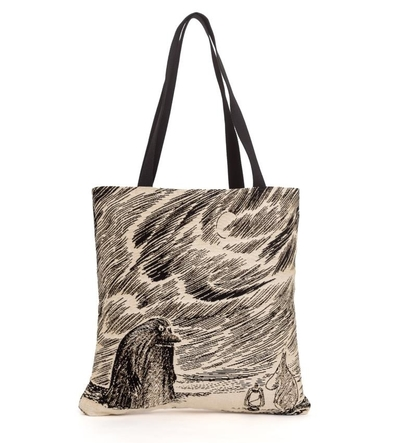Moomin tapestry shopper bag, Groke