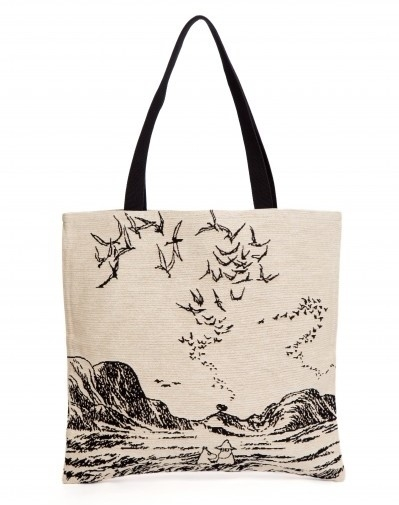 Moomin tapestry shopper bag, Moominpappa at Sea