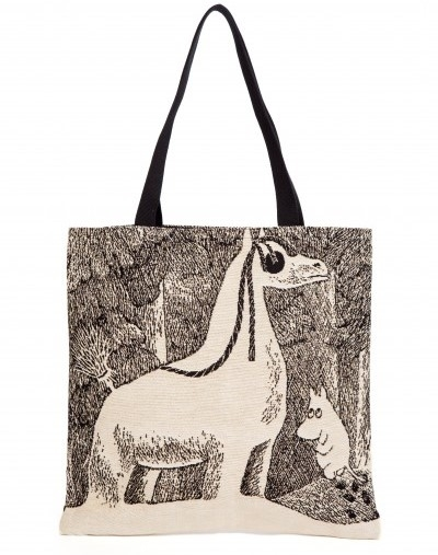 Moomin tapestry shopper bag, Snow Horse