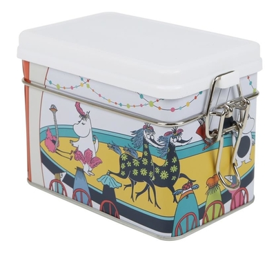 Moomin tea box, Circus