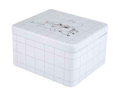 Moomin tea box, Square