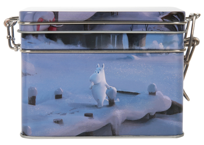 Moomin tea caddy, 3D Winter