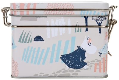 Moomin tea caddy Forest, light