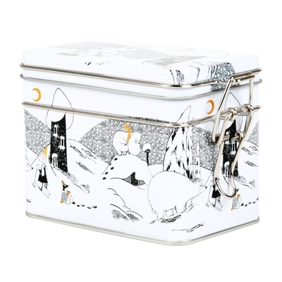 Moomin tea caddy/ storing can, Polar bear