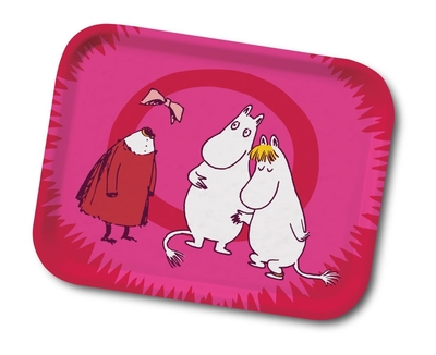 Moomin the invisible girl serving tray