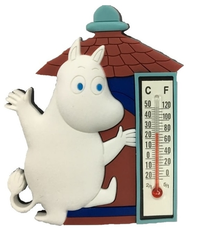 Moomin thermometer with a magnet, Moomintroll