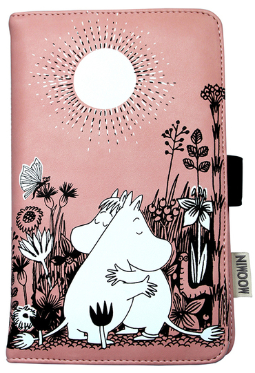 "Moomin travel wallet, ""Love"""
