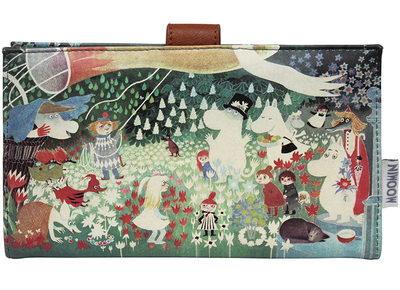 "Moomin travel wallet ""Dangerous Journey"""