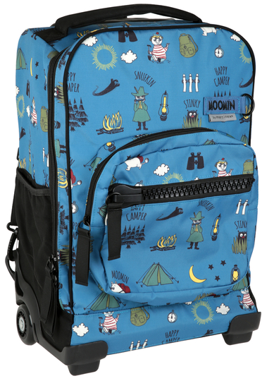 Moomin traveling bag, blue