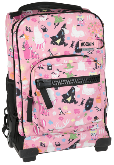 Moomin traveling bag, light pink