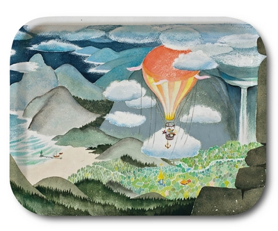 Moomin tray Moominvalley