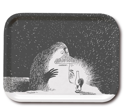 Moomin tray The Groke