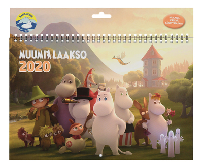 Moomin wall calendar Moominvalley #OURSEA 2020