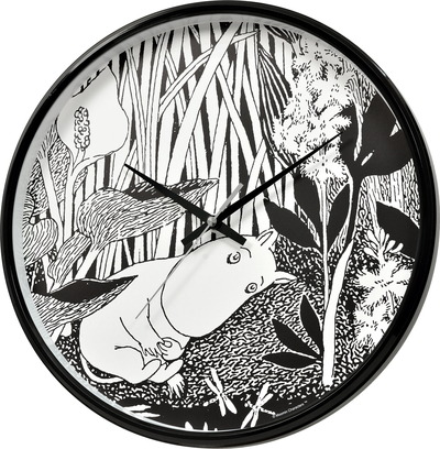 Moomin wall clock, Moomintroll dreams