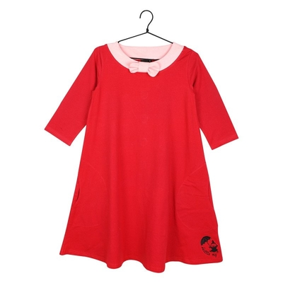 Moomin women's Little My dress, red