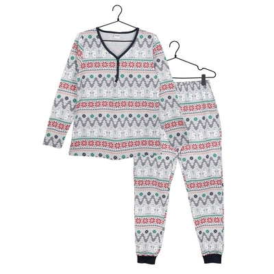 Moomin women's Noël-pyjamas, grey
