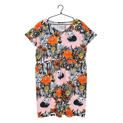 Moomin women's Tea dress My Daydreaming, orange