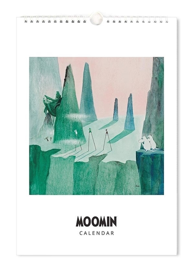 Moomin yearless wall calendar, 23x34cm
