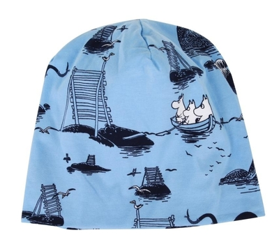 Moomins by the sea ski hat, blue, different sizes