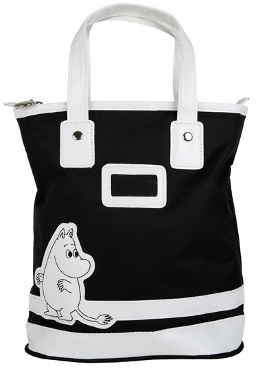 Moomintroll children's club bag, black