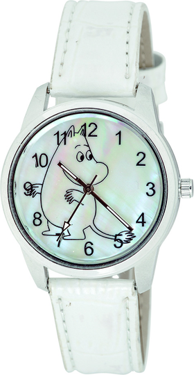 Moomintroll wristwatch 35mm, white