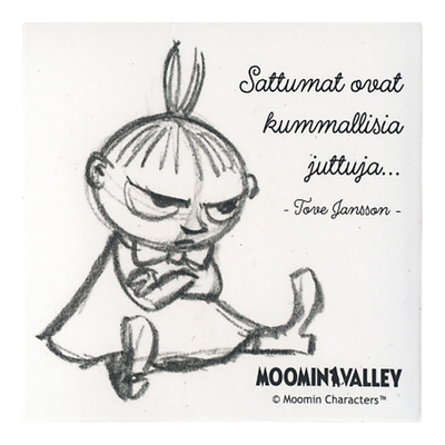Moominvalley magnet Little My