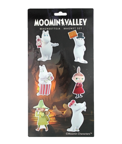 Moominvalley magnets 6pcs series