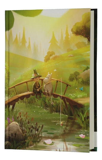 Moominvalley notebook Bridge, 13,5x19,5cm