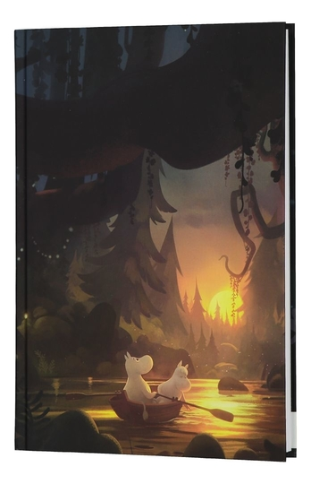 Moominvalley notebook Summer Night, 17,5 x 25 cm