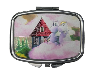 Moominvalley small tin box with a mirror